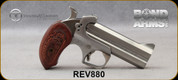 """Taylor's & Co - Bond Arms - 357Mag/38Spl - Snake Slayer IV - Extended Rosewood Grips/Stainless Finish, 4.25""""Barrel, Mfg# 880"""