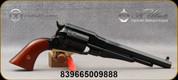 "Taylor's & Co - Uberti - 44-40Win - Model 1858 Remington Conversion - Revolver - Two-Piece Walnut Grips/Blued Finish, 8""Octagonal Barrel, Mfg# 1001"