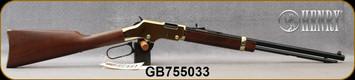 "Henry - 22LR - Golden Boy - Lever Action - American Walnut/Blued, 20"" Octagon Barrel, Mfg# H004, S/N GB755033"