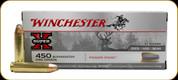 Winchester - 450 Bushmaster - 260 Gr - Super-X - Power Point - 20ct - X4501