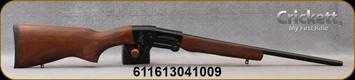 "Keystone - Crickett - 410Ga/3""/18.5"" - Youth Single Shot Break Action Shotgun - Foldable Design - Turkish Walnut Stock/Blued Finish, Bead Front Sight, Mfg# KSA4100"