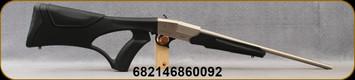"Legacy Sports International - Pointer - 410Ga/3""/18"" - Pup - Single Shot Break Action Shotgun - Synthetic Black Thumbhole Stock/Nickel Finish, Chrome-Lined Barrel, Bead Front Sight, Mfg# PUP410S"