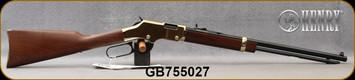 "Henry - 22LR - Golden Boy - Lever Action - American Walnut/Blued, 20"" Octagon Barrel, Mfg# H004, S/N GB755027"