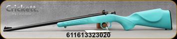 "Keystone - 22LR - Crickett Scope Package - Bolt Action Single Shot Rifle - Blue Synthetic/Blued Finish, 16.1""Barrel, Scope, Base and Mount, Mfg# KSA2302PKG"