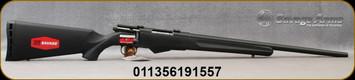 "Savage - 223Rem - Model 25 Walking Varminter - Bolt Action Rifle - Black Synthetic Stock/Black Finish, 22""Barrel 4 Round Detachable Magazine, Mfg# 19155"