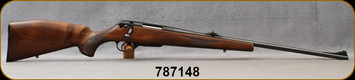 """Consign - Voere - 222Rem - Titon - Menor HDF - Checkered Walnut Stock/Blued, 23""""Barrel, Adjustable Sights, Detachable magazine, only 40 rounds fired"""