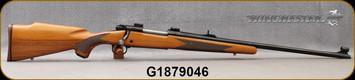 "Consign - Winchester - 7mmRM - Model 70 XTR Sport Magnum - Walnut Stock/Blued, 24""Barrel, Iron Sights, weaver scope bases"