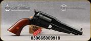"Taylor's & Co - Uberti - 45LC - Model 1858 Remington Conversion - Two-piece Walnut grip/Brass Trigger Guard/Blued Finish, 5.5""octagonal barrel, Mfg# 1004"