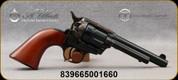 "Taylor's & Co - Uberti - 38Spl - Model 1873 Stallion - Revolver - Walnut Grip/Case Hardened Frame/Blued, 4.75"" Barrel, Mfg# 3001"