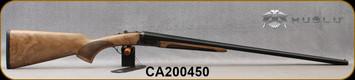 "Huglu - 28Ga/3""/28"" - 200A Mini - SxS Single Trigger - Grade AA Turkish Walnut/Case Hardened Receiver/Chrome-Lined  Barrels, 5pc. Mobile Choke, SKU# 8682109404952-2, S/N CA200450"