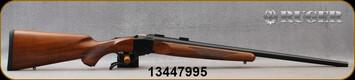 """Ruger - 243Win - 1-V - Varminter - American Walnut Stock/Satin Blued, 26""""Heavy Barrel, 1:7.7"""" Twist, MFG# 21300, S/N 13447995"""