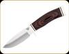 "Buck Knives - Vanguard - 4.25"" Blade - 420HC Stainless Steel - Heritage Walnut DymaLux Handle - 0192BRS-B"