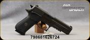 "Sig Sauer - 10mm - P220 Legion - SAO Semi-Auto Pistol - Custom Black G10 Grips w/Legion medallion/Legion Gray Finish, 5""Carbon Steel Barrel, Electro-Optics X-RAY hi-vis day/night sights, (3)8rd magazines, Mfg# 220R5-10-LEGION-SAO"