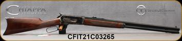 "Taylor's & Co - Chiappa - 45-70Govt - Model 1886 Takedown - Lever Action Rifle - Select Grade Walnut Stock/Case Hardened FinishFrame & Lever/Blued, 26""Octagonal Barrel, 8 Round Tubular Magazine, Mfg# 920.364, S/N CFIT21C03265"
