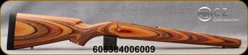 CZ - Model 550 Magnum - Stock Only - Safari Sunset Camo Laminate - Sling Swivel Studs