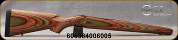 CZ - Model 550 Magnum - Stock Only - Safari Spring Camo Laminate - Sling Swivel Studs