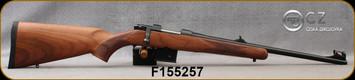 """CZ - 7.62x39 - Model 527 Carbine - Bolt Action Rifle - Turkish Walnut/Blued, 18.5""""Barrel, Single Set Trigger, Hooded Fiber Optic front sight, Mfg# 5274-7304-BFTKABX, S/N F155257"""