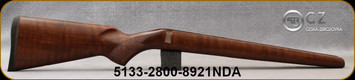 CZ - Model 452 Varmint - Stock Only - Turkish Walnut - WMR/HMR - ZKM - Mfg# 5133-2800-8921NDA
