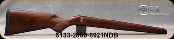 CZ - Model 452 Varmint - Stock Only - Turkish Walnut - WMR/HMR - ZKM - Mfg# 5133-2800-8921NDB