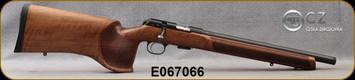 "CZ - 22LR - Model 457 Varmint MTR - Bolt Action Rimfire Rifle - Turkish Walnut/Blued, 16""Threaded Heavy Barrel, 5rd Detachable Magazine, Mfg# 5084-8594-VKAMEAX, S/N E067066"
