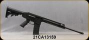 "Consign - Kodiak Defense - 5.56/9mm - WK180C - Black Synthetic Stock/Black hard Coat Anodized Class III Finish, 18.7""Barrel, c/w 9mm Upper conversion, (4)10/17 Glock Magazines, (1)5/30 P-Mag - Unfired, In original box"
