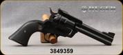 "Consign - Ruger - 357Magnum - New Model Blackhawk - Black Grips/Blued, 4 5/8""Barrel - Less than 20 rounds fired"