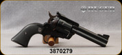 """Consign - Ruger - 45LC/45ACP - New Model Blackhawk Convertible - Single Action 6 round Revolver - Black Synthetic Grips/Blued, 4.62""""Barrel, Mfg# 0446 - Unfired, in original case"""