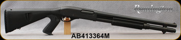 """Consign - Remington - 12Ga/3""""/18"""" - 870 XCS Marine Magnum - Pump Action - Black Synthetic Mesa Tactical Urbino PG Stock/TriNyte Black finish, 6 Round Capacity, Fixed Cylinder choke - less than 250rds fired - in padded rifle case w/manual"""