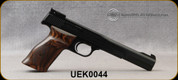 """Smith & Wesson - 22LR - 41 Semi-Auto Pistol - Wood Grip, Partridge Front/ Adj Rear Sights - 7"""" - 10rd - Mfg# 130512 - Demo Model - Light scratches on barrel finish from factory"""