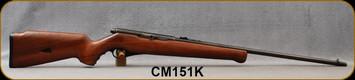 "Consign - Mossberg - 22LR - Model 151K 0 Walnut Stock/Blued, 24""Barrel"