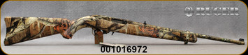 """Consign - Ruger - 22LR - Model 10/22 50th Anniversary Edition - Mossy Oak Break-up Infinity Camo Finish, 18.5""""Barrel - Unfired"""