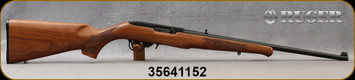 """Consign - Ruger - 22LR - Model 10/22 - Walnut Stock w/Schnabel forend/Blued, 20""""Barrel, unfired"""