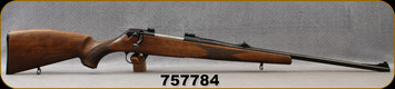 """Consign - Voere - 308Win - Model HDF Titan - Checkered Walnut Stock w/cheekpiece/Blued, 24""""Barrel, Adjustable Sights - low rounds fired"""