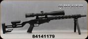 "Consign - Ruger - 22LR - Precision Rifle - Hard Black Anodized, Adjustable Stock, 18"" Barrel, MFG# 08401, 500rds fired - c/w Vortex Diamondback Tactical, 4-16x44mm, FFP, EBR-2C MOA Reticle, original gun box"