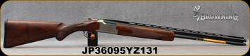 "Browning - 410Ga/3""/26"" - Citori White Lightning - Grade IV Walnut Lightning-style stock/Silver Nitride Engraved Receiver/Blued Barrel, Ext. Midas Grade Choke Tubes (F.M), Mfg# 018142914, S/N JP36095YZ131"