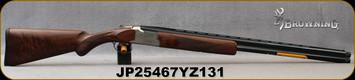 "Browning - 16Ga/2.75""/28"" - Citori White Lightning - Grade IV Walnut Lightning-style stock/Silver Nitride Engraved Receiver/Blued Barrel, Ext. Midas Grade Choke Tubes (F,M,IC), Mfg# 018142513, S/N JP25467YZ131"