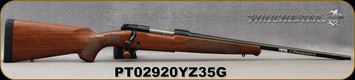 """Winchester - 243Win - Model 70 Featherweight Compact - Bolt Action Rifle Walnut Stock/Blued, 20"""" Barrel, 5 Rounds, Mfg#535201212, S/N PT02920YZ35G"""