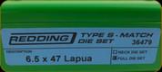 Redding - Type S-Match Full Die Set - 6.5x47 Lapua - 36479