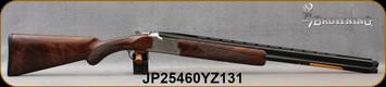 "Browning - 16Ga/2.75""/26"" - Citori White Lightning - Grade IV Walnut Lightning-style stock/Silver Nitride Engraved Receiver/Blued Barrel, Ext. Midas Grade Choke Tubes (F,M,IC), Mfg# 018142514, S/N JP25460YZ131"