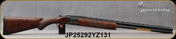 "Browning - 16Ga/2.75""/28"" - Citori Gran Lightning - O/U - Oil finish, Grade V/VI walnut, lightning-style stock/Gold Accent, Intricately Engraved Receiver/Polished Blued Barrels, Extended Midas Grade choke, Mfg# 018117513, S/N JP25292YZ131"