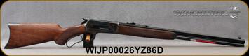 "Winchester - 45-90Win - Model 1886 Deluxe Case Hardened - Lever Action - Grade IV Black Walnut/Case Hardened Receiver/Blued, 24""Full Octagonal Barrel, Mfg# 534227171, S/N WIJP00026YZ86D"