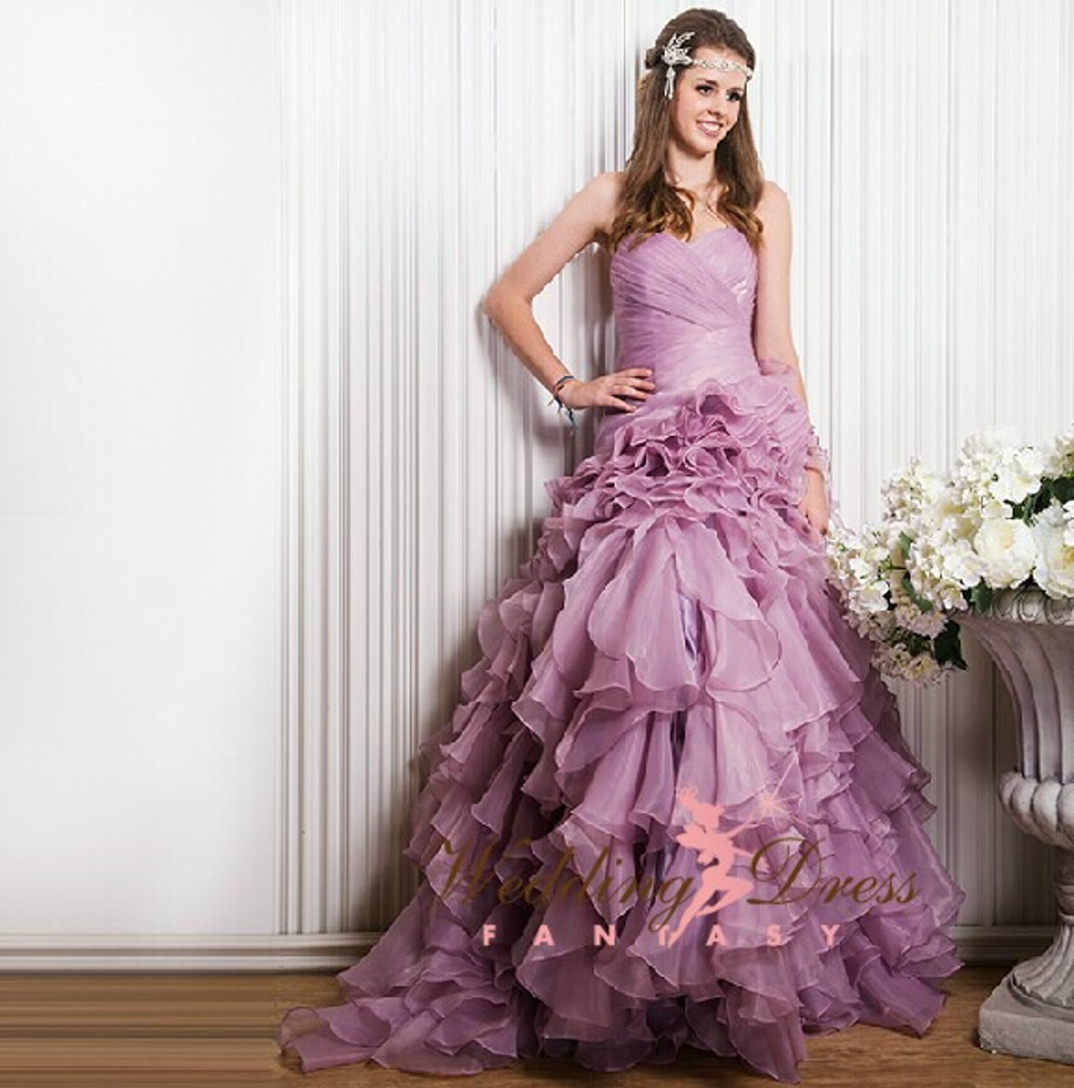 lilac wedding dress wedding dress fantasy