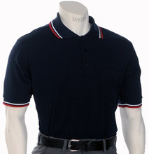 Navy Blue with Red, White and Navy Trim