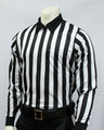 "Smitty 1"" Stripes Heavyweight Long Sleeved Football Referee Shirt"
