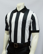 "2 1/4"" Stripes Smitty Mesh Short Sleeved Football Referee Shirt"