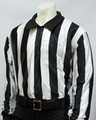 "2"" Stripes Smitty Hybrid Water Proof Long Sleeve Football Referee Shirt"