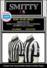 """2 1/4"""" Stripes KSHSAA (Kansas) Logo Football Shirt"""