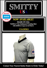 Kansas (KSHSAA) Wrestling Referee Shirt