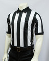 "Smitty 2"" Stripes Elite Short Sleeved Football Referee Shirt"