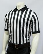 Smitty 100% Warpknit Polyester Short Sleeved Football Referee Shirt